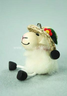 Bárány lány, fehér