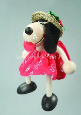 Kutya lány, piros