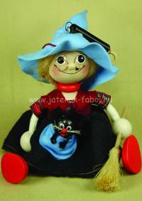 Nagy boszorkány, kék kalapos
