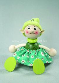 Manó lány, zöld
