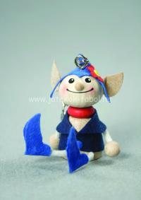 Mini manó fiú, kék