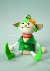 Mini manó fiú, zöld