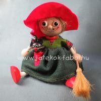 Nagy boszorkány, piros kalapos